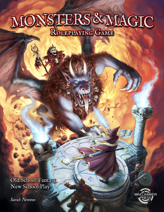 The Monsters & Magic Roleplaying Game – Mindjammer Press